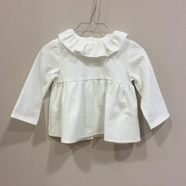 ece18cf25 blusa blanca volante mia y lia la petite boutique santiago jpg ...