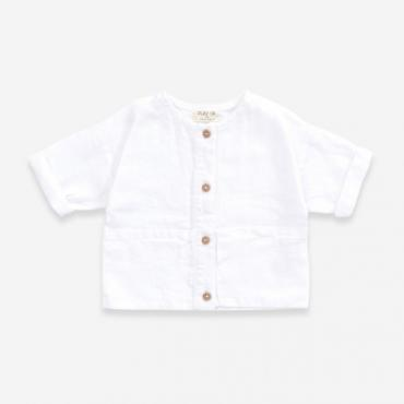 camisa lino bebe play up la petite boutique santiago
