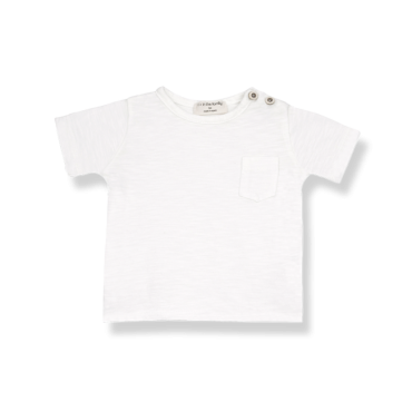 camiseta blanca one more in the family la petite boutique santiago