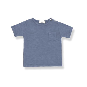 camiseta blue one more in the family la petite boutique santiago