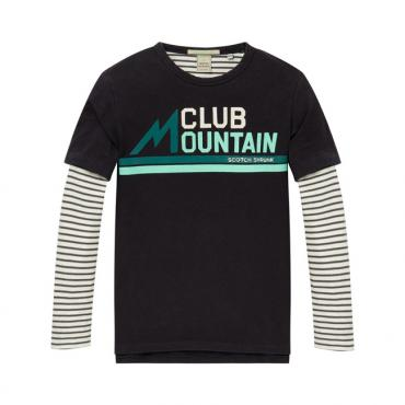 camiseta club mountain delante scotch soda la petite boutique santiago