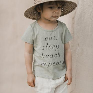 camiseta eat sleep nin o rylee and cru la petite boutique santiago