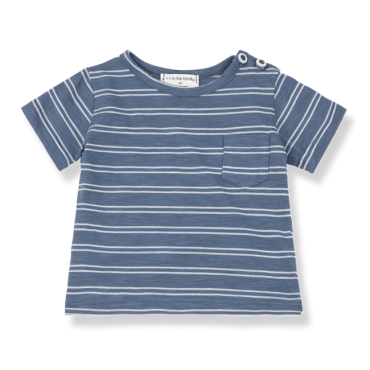 camiseta luca indigo one more in the family la petite boutique santiago