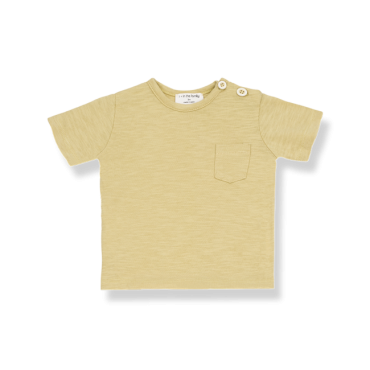 camiseta raffia one more in the family la petite boutique santiago