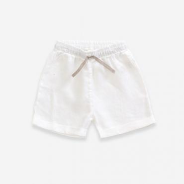 short lino blanco nin o play up la petite boutique santiago