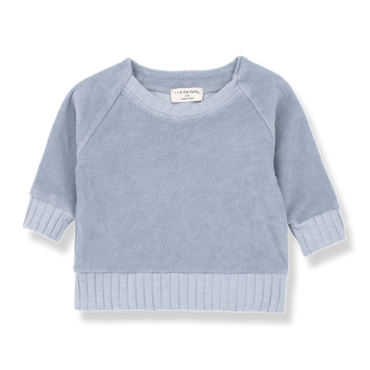 sudadera etienne light blue one more in the family la petite boutique santiago