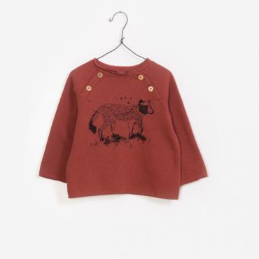 sudadera felpa animal play up la petite boutique santiago
