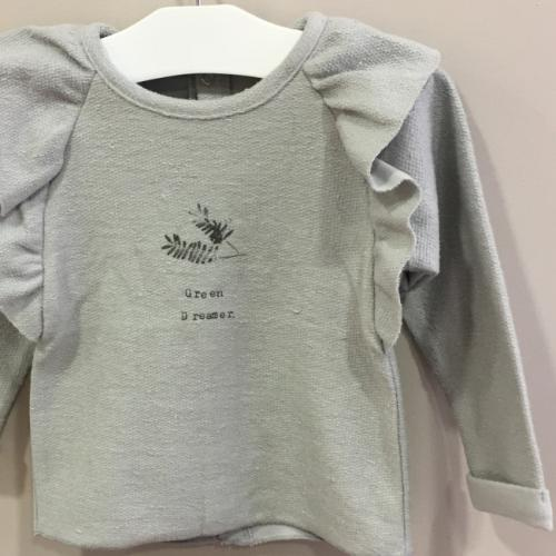 sudadera lucy gris detalle message in the bottle la petite boutique santiago