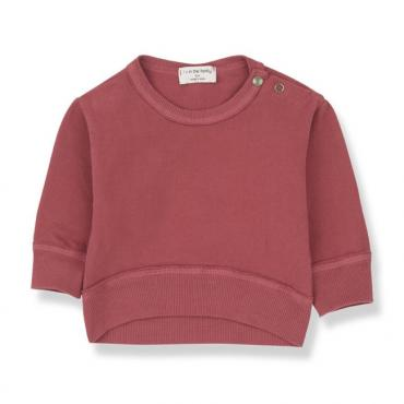 sudadera siracusa red one more in the family la petite boutique santiago