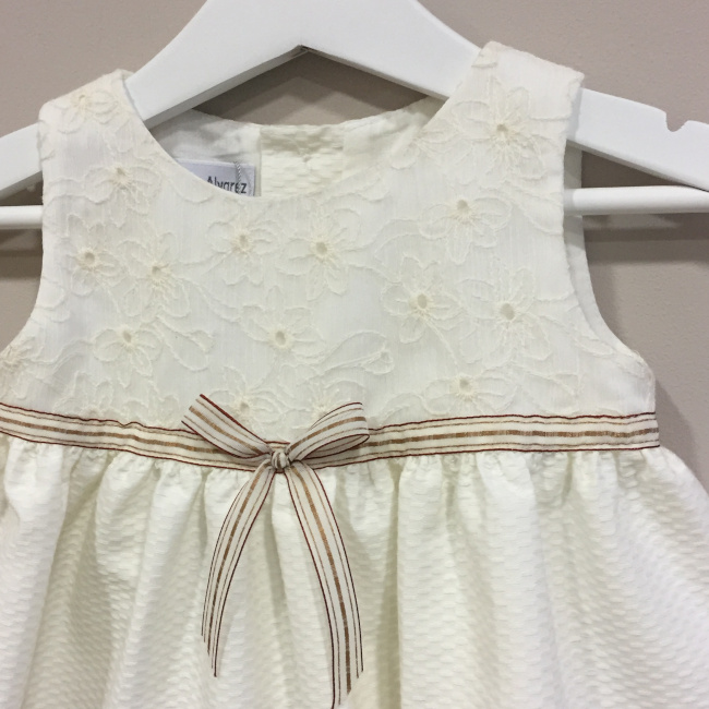 c0f8124de ... vestido crudo bebe detalle n v la petite boutique santiago